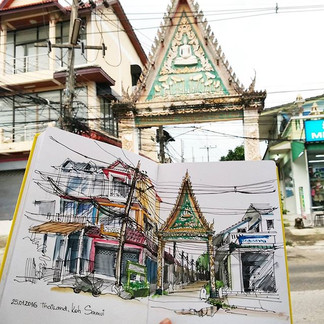 A secret for drawing in Thailand_ you se