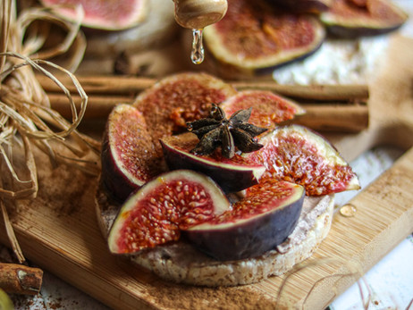 Krem sir od kefira sa smokvama - Cream kefir cheese with figs