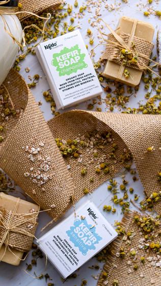 Sapuni s domaćim kefirom za zdravlje kože - Homemade kefir soaps for skin health