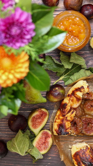 Galette sa smokvama bez glutena - Gluten free fig galette