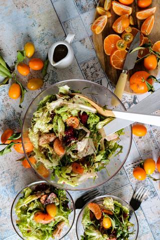 Zimska salata s umakom od vodenog kefira