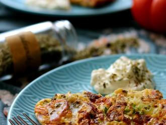 Proljetni omlet - Spring omelette