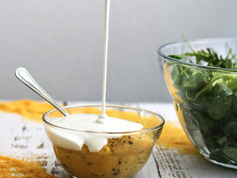 Palenta s domaćim kefirom - Cornmeal mush with homemade kefir