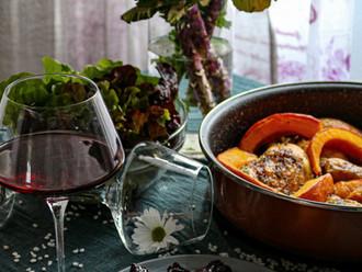 Piletina s njokima i umakom od bobičastog voća - Chicken with gnocchi and berry sauce