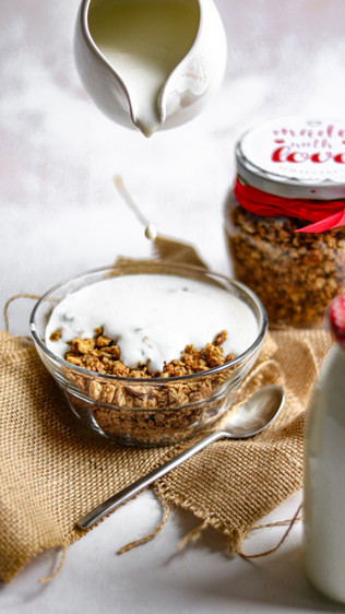 Jedna jedina domaća granola - One and only homemade granola