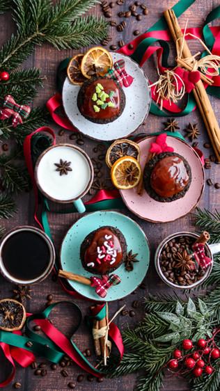 Muffini s rogačem, heljdom i domaćim kefirom - Carob, buckwheat and homemade kefir muffins
