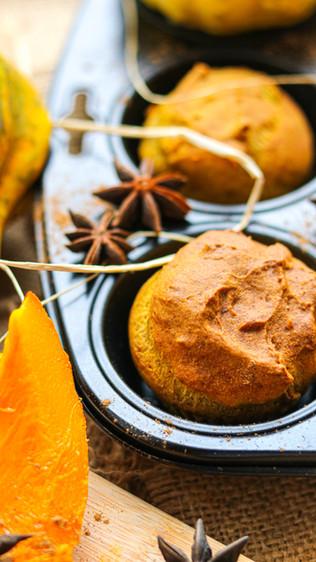 Muffini s kefirom i tikvom - Pumpkin kefir muffins