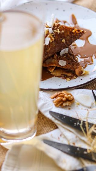 Palačinke s kefirom i bezglutenskim brašnima - Kefir pancakes with gluten free flours