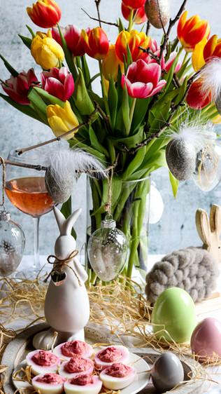Punjena jaja - Deviled eggs
