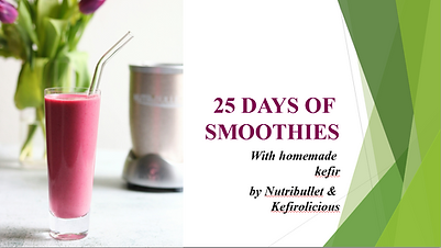 25 DAYS OF SMOOTHIES