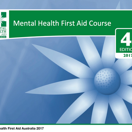 NOW DELIVERING STANDARD MHFA      4th Edition