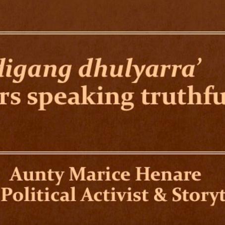 Introducing Series 1: Elders speak truthfully