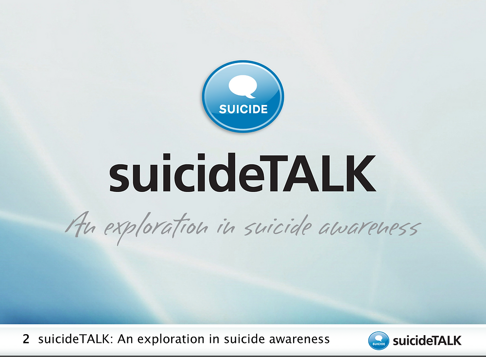 "Ranging from 90 minutes to a half a day, suicideTALK invites all participants—regardless of prior training or experience—to become more aware of suicide prevention opportunities in their community. Dealing openly with the stigma around suicide, this exploration focuses upon the question ""Should we talk about suicide?"" By looking at this question in a number of different ways, session members can discover some of the beliefs and ideas about suicide in their communities—and in themselves. suicideTALK participants learn…  How suicide is a serious community health problem that is often misunderstood How personal and community beliefs about suicide affect suicide stigma and safety How the steps taught in LivingWorks' safeTALK program can be used to help prevent suicide How to get involved in life protection, preservation, and promotion activities in the community"