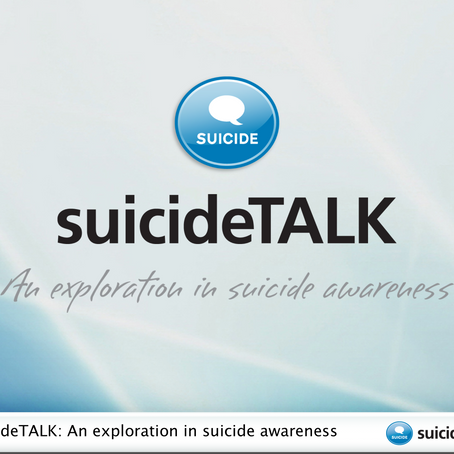 SUICIDE TALK now being offered through Girraway Ganyi Consultancy
