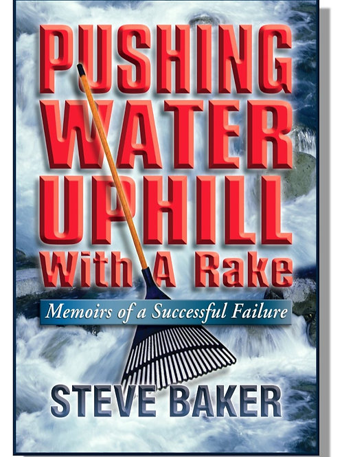 PUSHING WATER UPHILL WITH A RAKE  by Steve Baker - eBook version