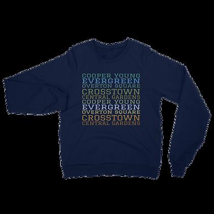 """Midtown"" Unisex California Fleece Raglan Sweatshirt"