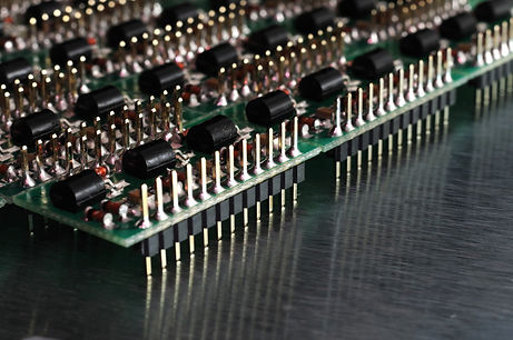 close-up-side-view-of-a-pcb-board-with-s