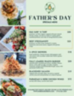 FATHER'S DAY MENU V2 _ EMBER & GREENS (1
