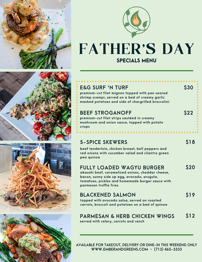 FATHER'S DAY MENU V2 _ EMBER & GREENS (1