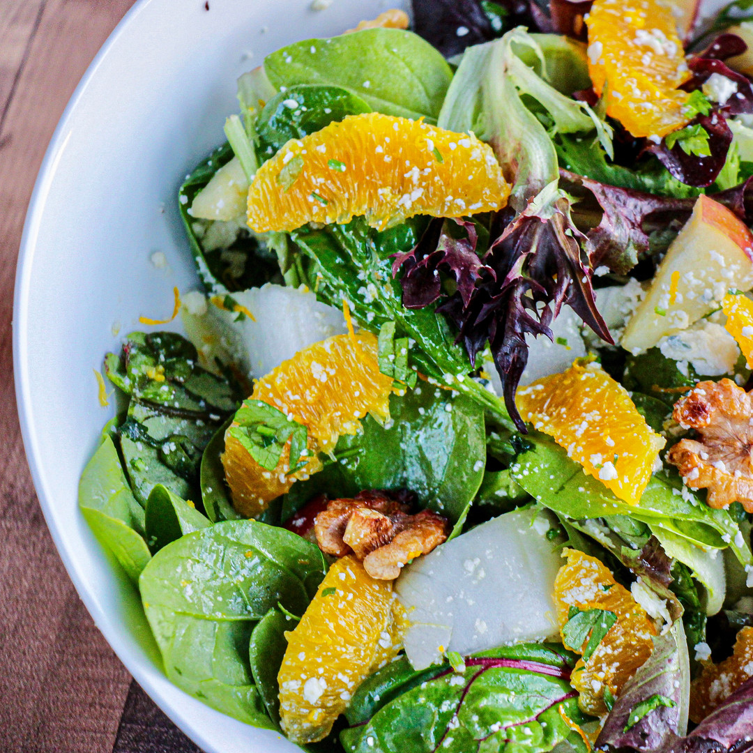 Citrus Gorgonzola Salad