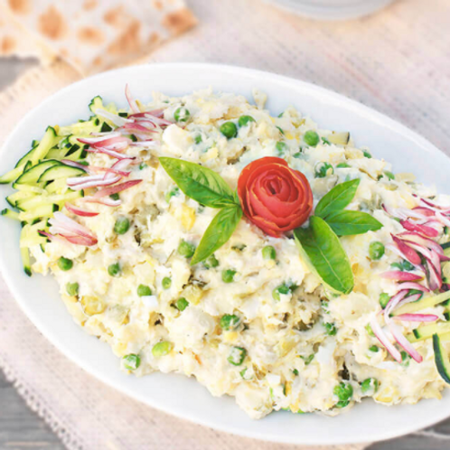 Chicken Olivieh