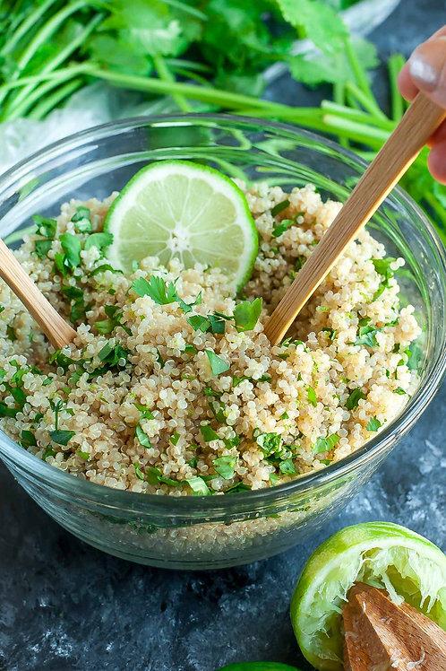 Cilantro Green Pea Quinoa