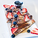 Nutella & Rosewater French Toast