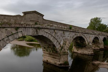 Bridge and Fisherman