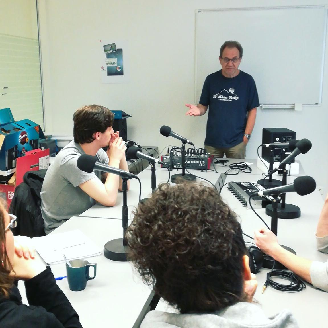 Présentation du projet aux futurs journalistes