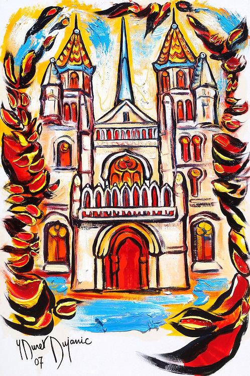 """Dijon, la Cathédrale Saint Bénigne"""