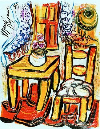 """La Table Jaune"""
