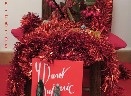 Joyeuses fêtes - Happy holidays - 节日快乐