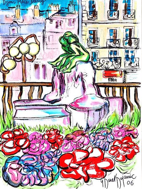 """Dijon, Place Darcy"""
