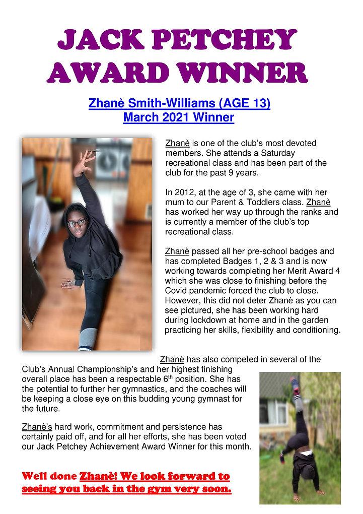 Zhanè Smith-Williams - Mar 2021 Winner.j