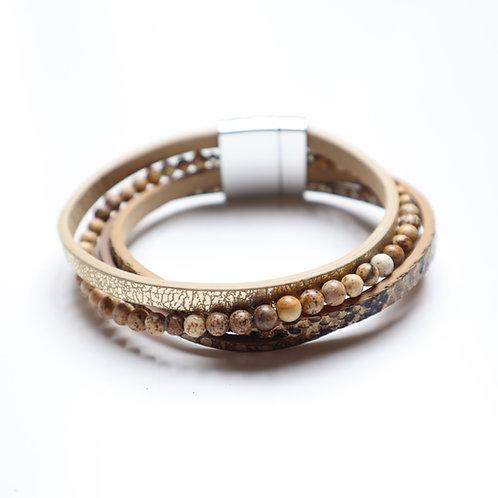 Bracelet Wild Jasper Stone