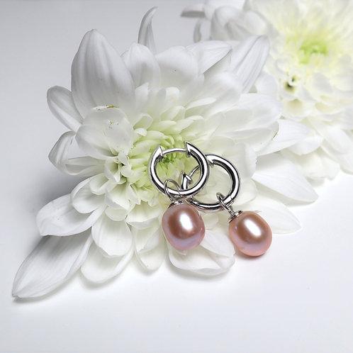 Ohrringe Rosy Pearl