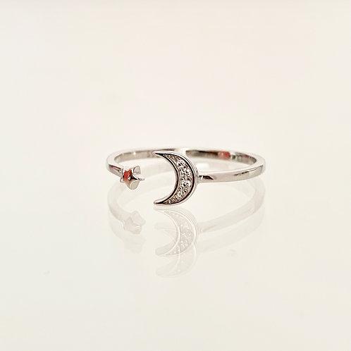 Ring Moon & Star