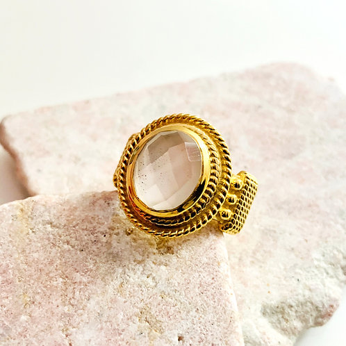 Ring Golden Moon