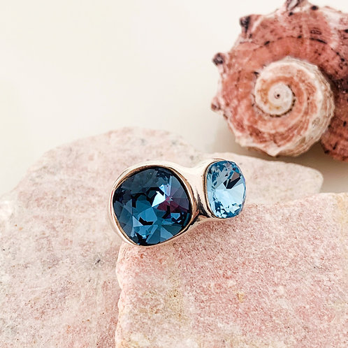 Ring Blue Star