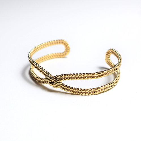 Armband | Armreif Beauty Gold | Pink Sand