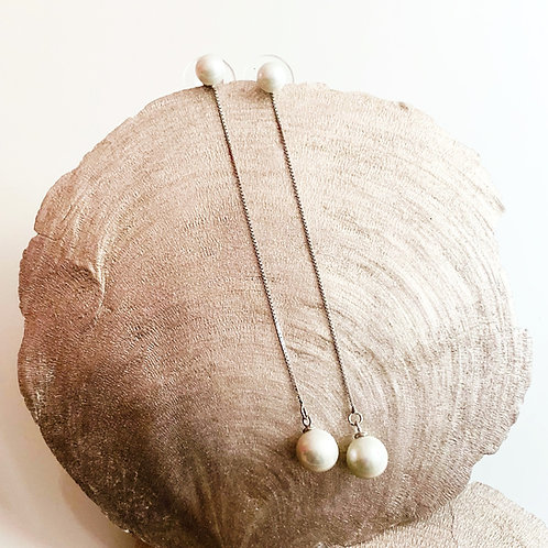 Ohrringe Pearl Drop