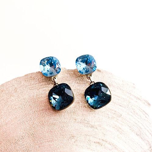Ohrringe Blue Stars