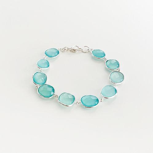 Armband Aqua Achat