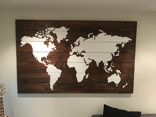 Wooden Maps