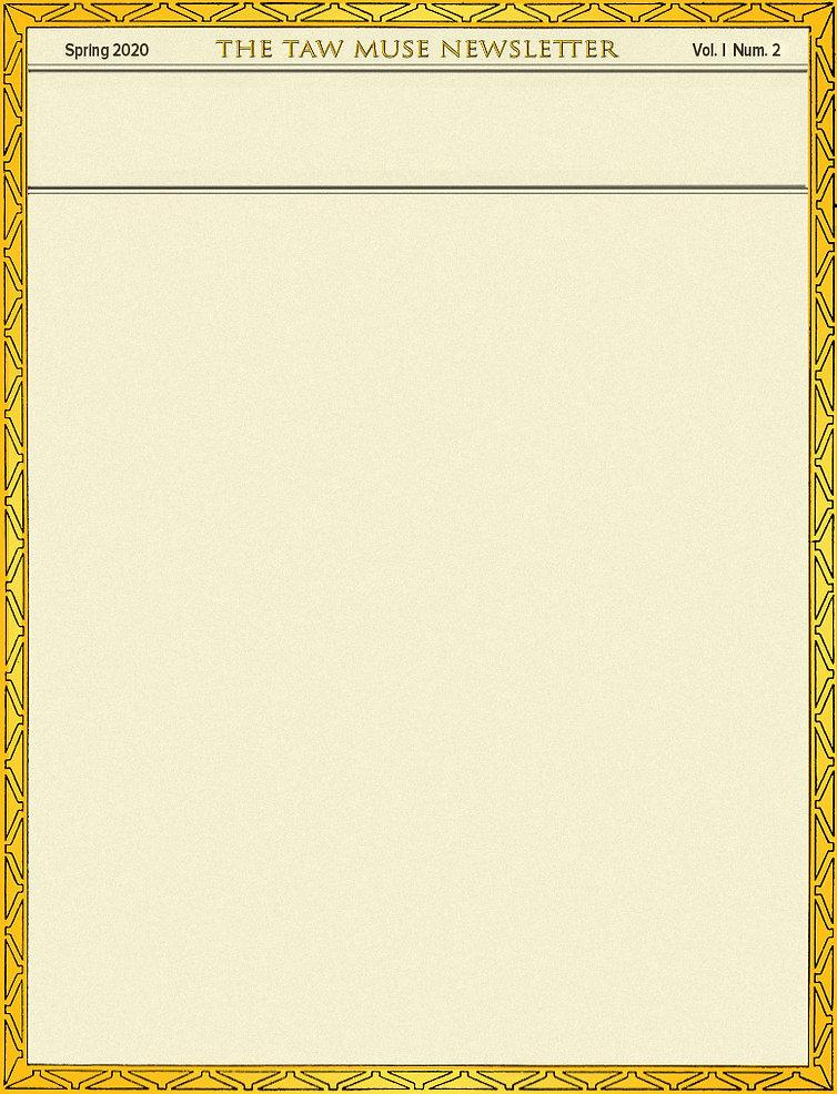 Museletter Vol 1 Num 2 - Background Frame