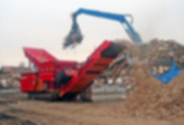HAMMEL VD 950 RED GIANT drtí dřevěný komunální odpad