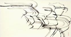 2  37 x 70 cm - Encre de chine sur papier japonais, 2013