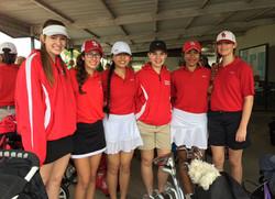 Younger golf girls