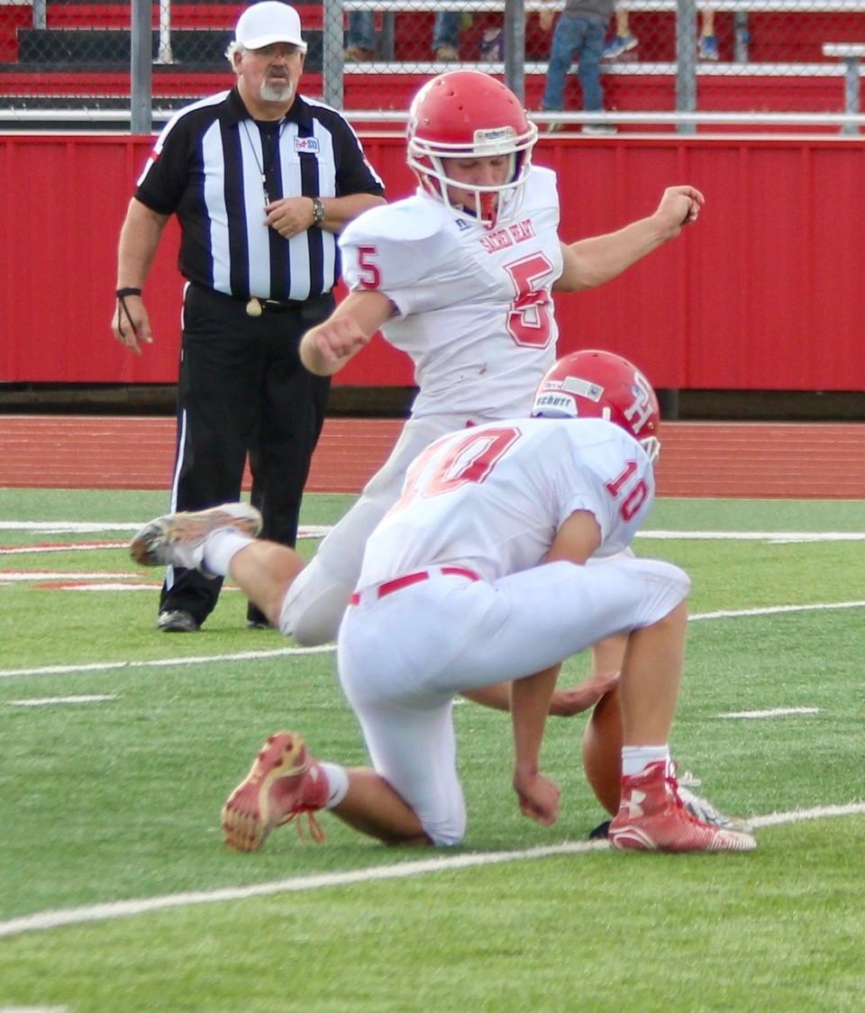 Sam kicking