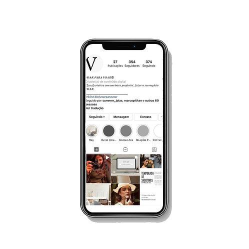Gerenciamento de Instagram (total para 6 meses)